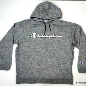 Champion Spellout Hoodie Hooded Sweatshirt XL